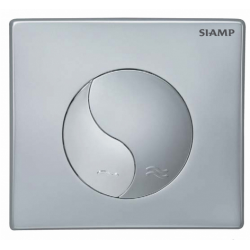 Elegance Siamp Standard Flush Plate In Matt Chrome Finish