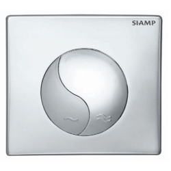 Elegance Siamp Standard Flush Plate In Brilliant Chrome Finish