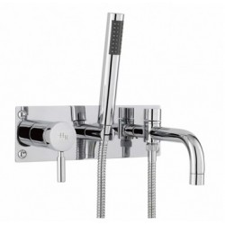 Hudson Reed Tec Single Lever Wall Mounted Bath Shower Mixer - PN350