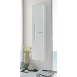 Elegance Vitale Gloss White Tall Wall Unit