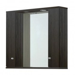 Elegance Aquapure 1 Avola Grey 1050 Mirror Cabinet And Light