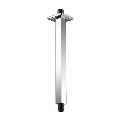 Elegance Brass Square Ceiling Shower Arm 200mm image