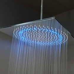Elegance LED Stainless Steel Square Shower Head