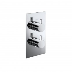 Elegance Pure Twin Concealed Thermostatic Shower Valve
