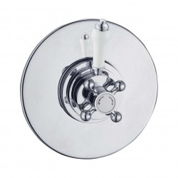 Elegance Edwardian Concealed Thermostatic Shower Valve Round