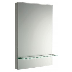 Hudson Reed Tempest LED Mirror With Shelf
