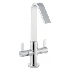 Hudson Reed Clio Cruciform Mono Basin Mixer - MG345