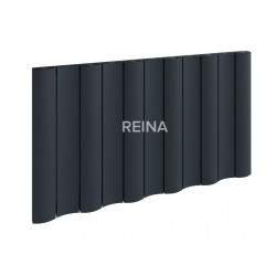 Reina Gio Horizontal Aluminium Single Panel Radiator