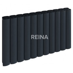 Reina Greco Horizontal Aluminium Single Panel Radiator
