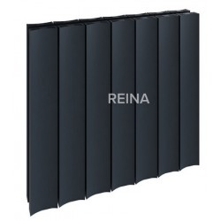 Reina Luca Horizontal Aluminium Double Panel Radiator