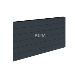 Reina Veno Horizontal Single Panel Aluminium Radiator