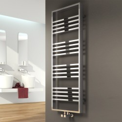 Reina Frame Chrome Vertical Designer Radiator