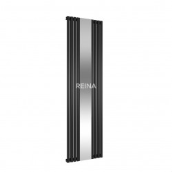 Reina Reflect Mirrored Vertical 1800mm x 445mm Radiator