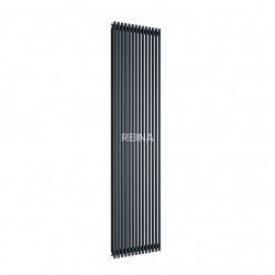Reina Tubes Vertical 1800mm x 350mm Single Panel Radiator