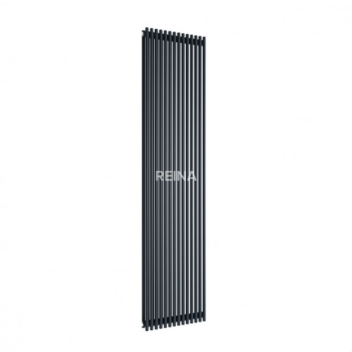 Reina Tubes Vertical 1800mm x 350mm Single Panel Radiator image