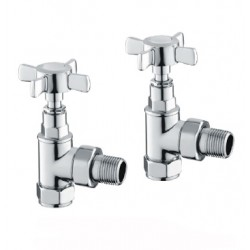 Reina Bronte Angled Chrome Valves