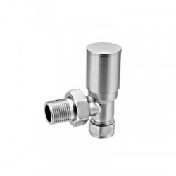 Reina Portland Angled Valves, Pair, 15mm