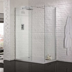 Aquadart Wetroom Walk-in and Side Panel - AQ2001