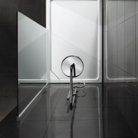 Aquadart Offset Quadrant Slimline Shower Tray - AQ2531 image