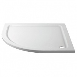 Aquadart Offset Quadrant Slimline Shower Tray - AQ2531