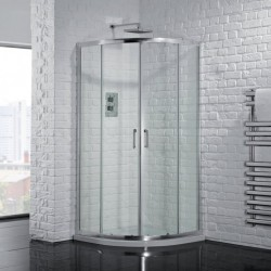 Aquadart Venturi 6 Double Door Quadrant - AQ9301S
