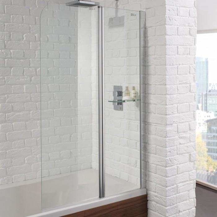 Aquadart Venturi 6 Fixed Bath Shower Screen - AQ9352S | Bath Screens ...