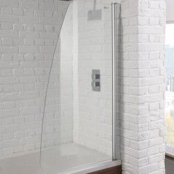 Aquadart Venturi 6 Sail Bath Shower Screen - AQ9353S