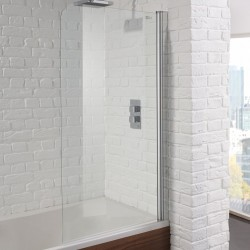 Aquadart Venturi 6 Single Bath Shower Screen - AQ9351S