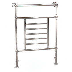 Reina Loreno Chrome Towel Rail 960mm x 675mm Radiator