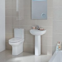 Elegance Compact Eco Rimless Complete Bathroom Suite image