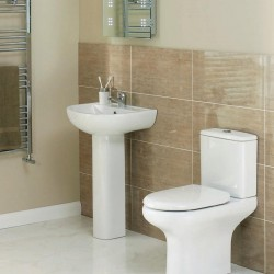 Elegance Compact Complete Bathroom Suite