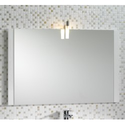 Mere Jenta 1000mm Mirror with Light and Side Decor