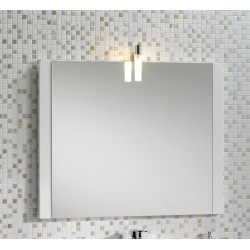 Mere Jenta 800mm Mirror with Light and Side Decor